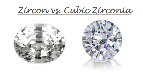 What's the difference between Zircon and Cubic Zirconia